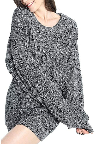 Liny Xin Slouchy Oversized Pullover Sweater