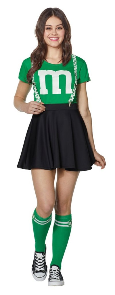 Adult Green M&M's Costume Kit