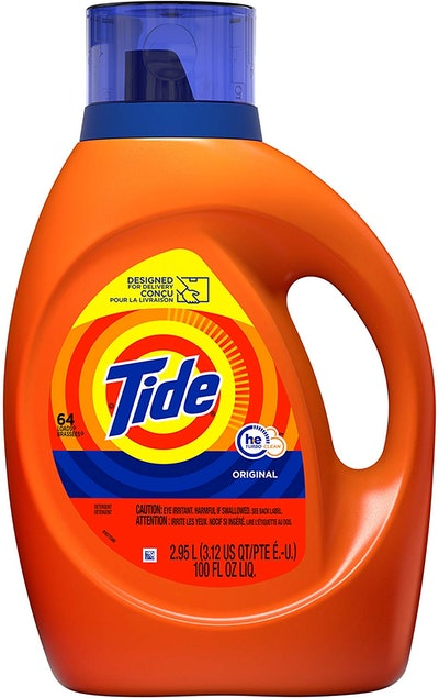 Tide Liquid Laundry Detergent HE Turbo Clean, Original Scent