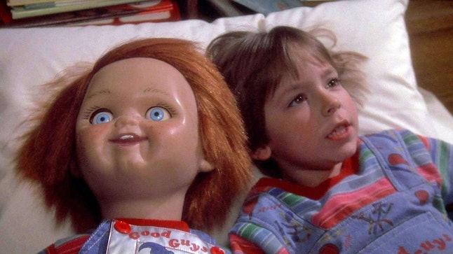 Chucky is a popular Halloween costume.