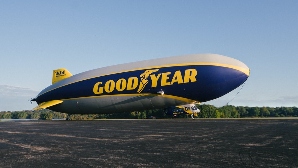 The Goodyear Blimp is on Airbnb.