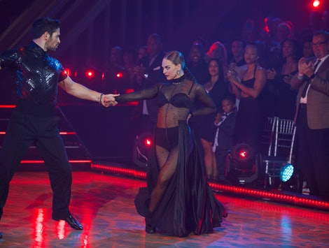 Hannah Brown and Alan Bersten on week 4 of Dancing with the Stars.