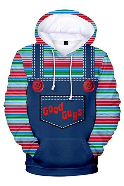 Adult Chucky Hoodies Jacket Costume