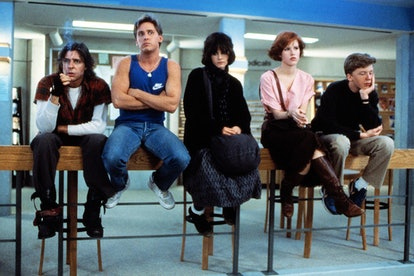 '80s outfits, like the ones seen on members of 'The Breakfast Club,' are popular Halloween Costumes.