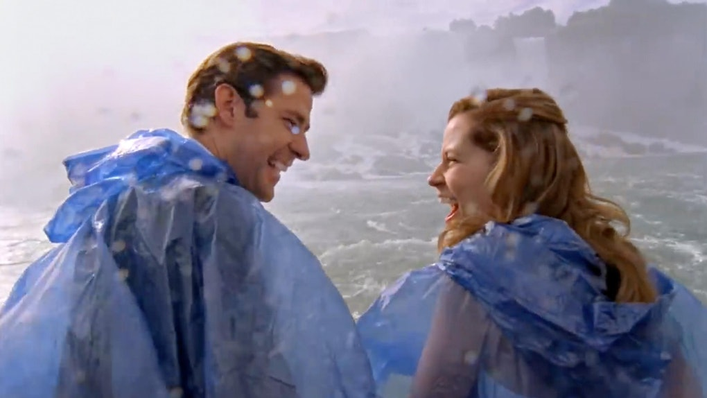 Jim and Pam's Niagara Falls wedding on the TV show The Office