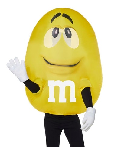Adult Yellow M&M's Inflatable Costume
