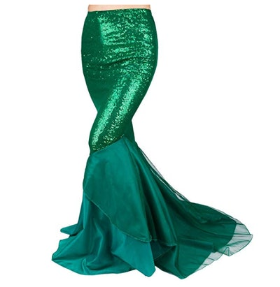 Mermaid Halloween Costume Skirt