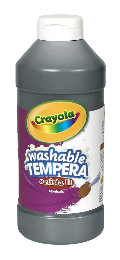 Crayola Washable Black Tempera Paint
