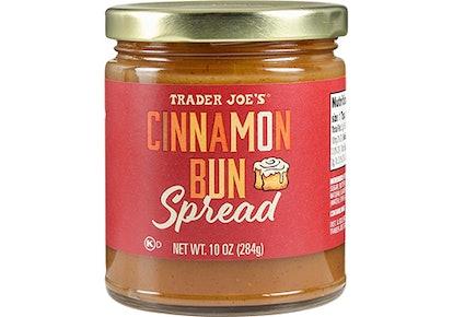 Trader Joe's Cinnamon Bun Spread.