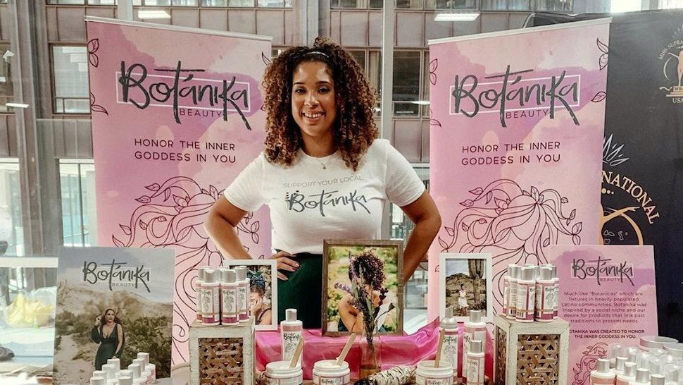 Ada Rojas, founder of Botanika Beauty.