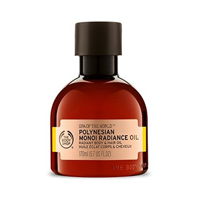 The Body Shop Spa Of The World Polynesian Monoi Radiance Oil