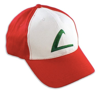 PLAYOLY Ash Ketchum Cosplay Trainer Hat
