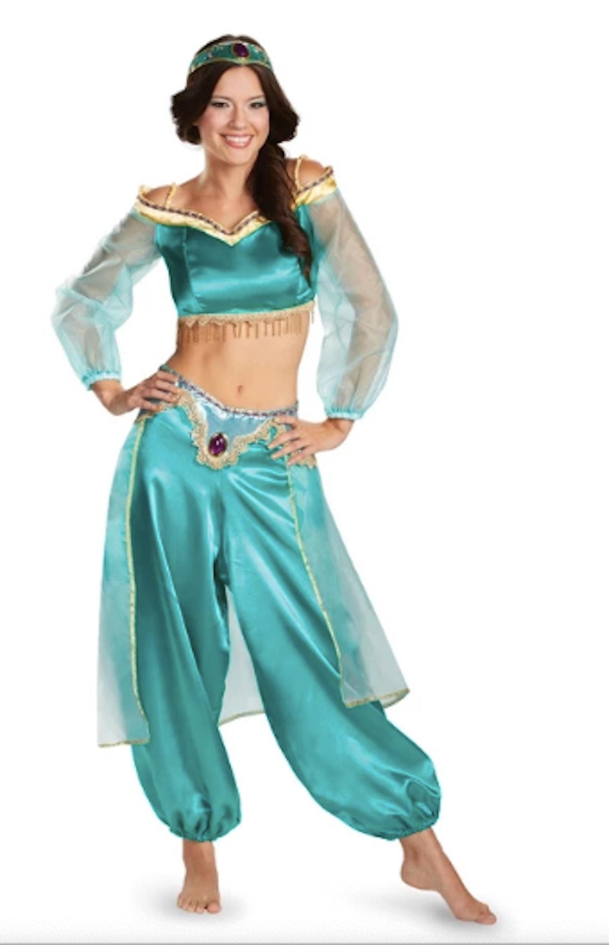 Women's Disney Princess Jasmine Halloween Costume