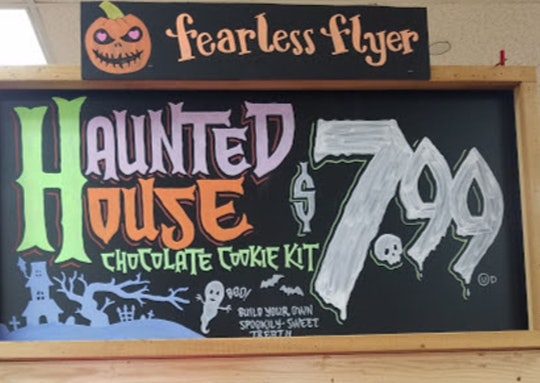 Trader Joe's haunted house chocolate cookie kits
