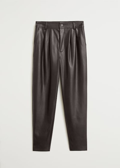 Seam-Detail Straight-Fit Trousers