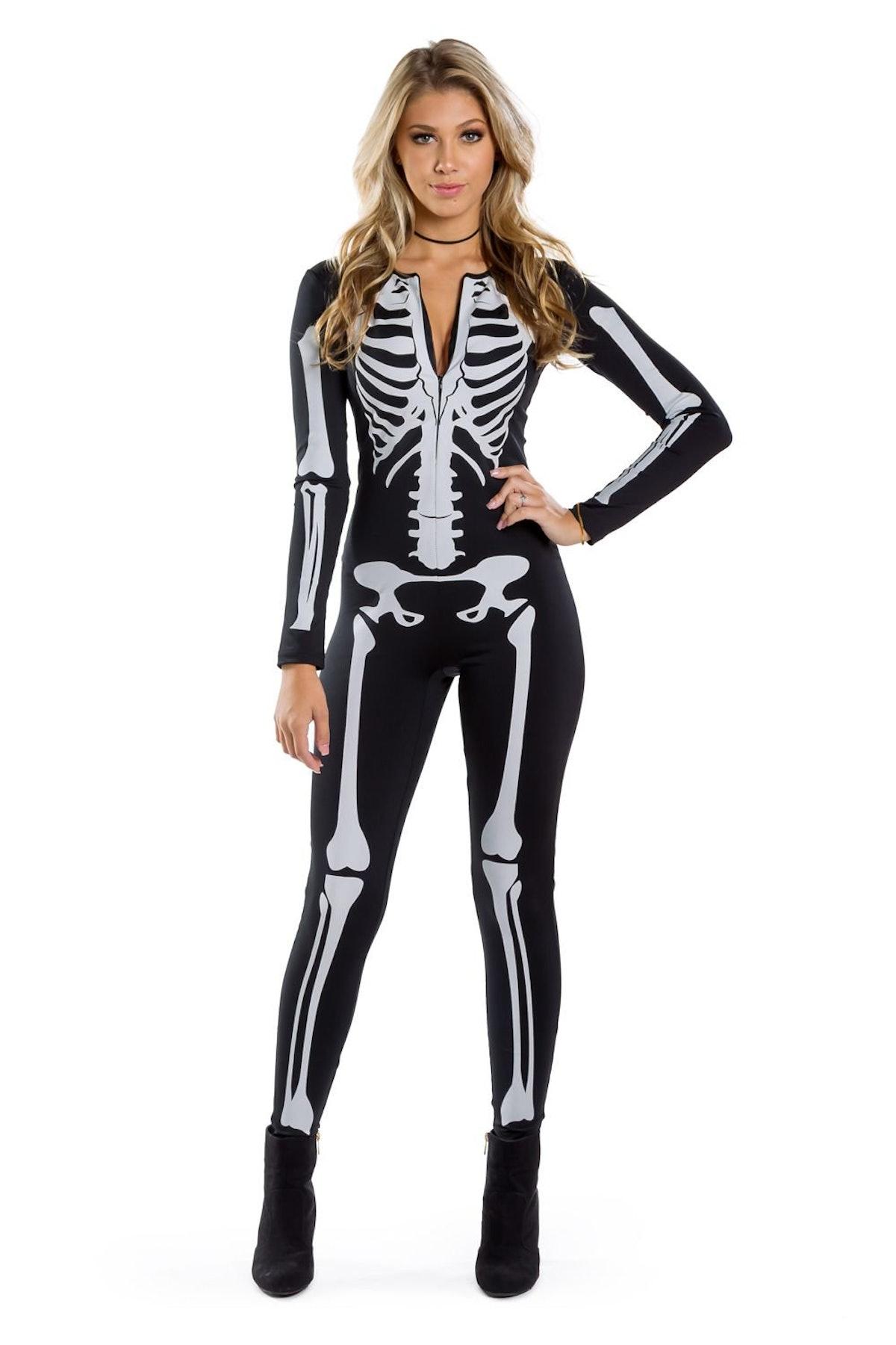 Skeleton Bodysuit Costume