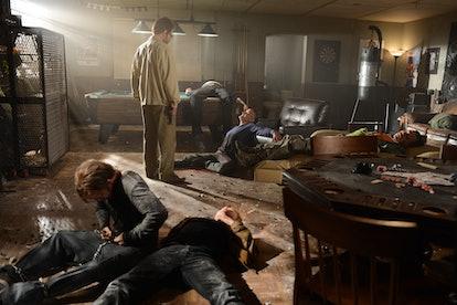 Walt gunned down Jack's men in the 'Breaking Bad' finale