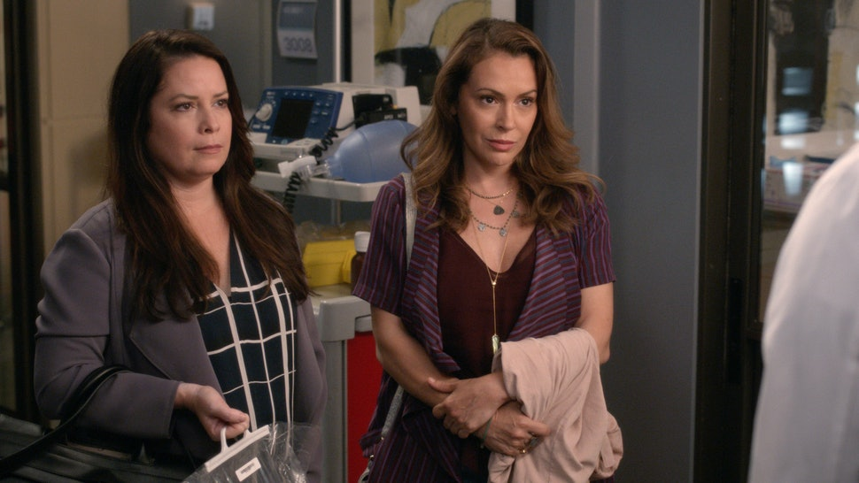 Holly Marie Combs and Alyssa Milano had a 'Charmed' reunion on 'Grey's Anatomy.'