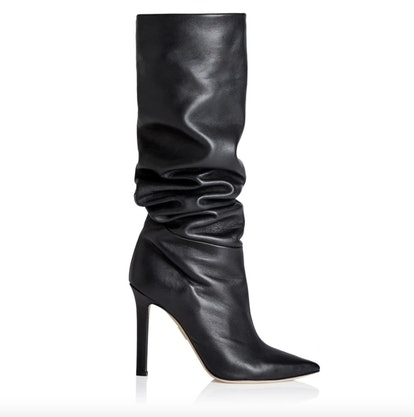 Icon Knee High 75 in Black Nappa