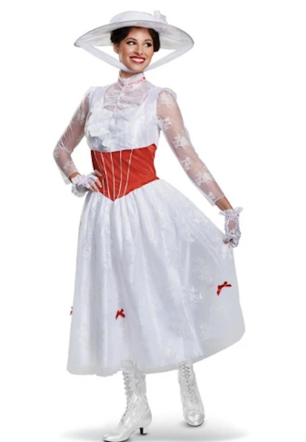 Women's Mary Poppins Deluxe Halloween Costume