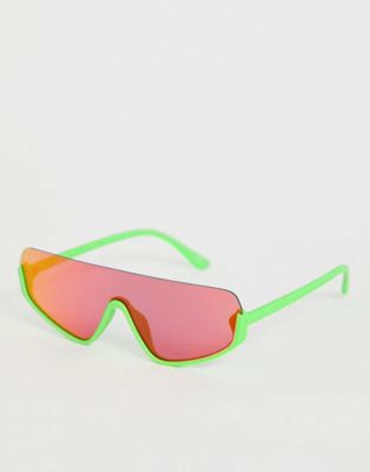 ASOS Design Flat Top Visor Fashion Glasses