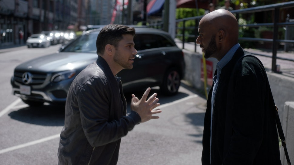 Jerry Ferrara with Romany Malco on 'A Million Little Things.'