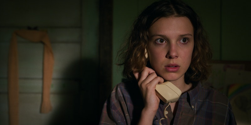 Millie Bobby Brown plays Eleven in Stranger Things 3