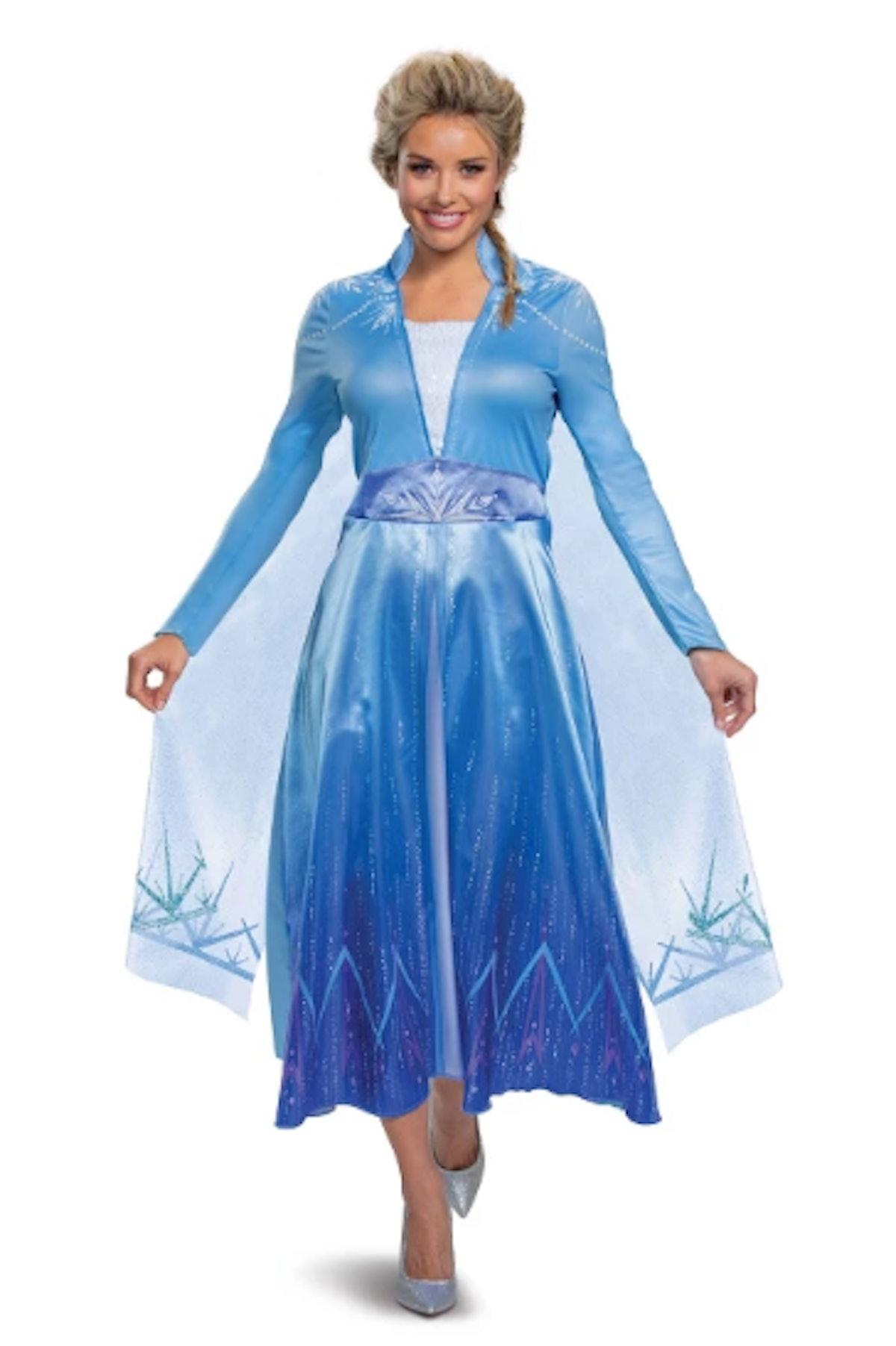Women's Disney Frozen 2 Elsa Deluxe Halloween Costume