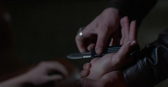 Dylan's (Tanner Buchanan) plan for revenge could prove disastrous for Sharon (Kristina Klebe) in 'Sinister Seduction.'