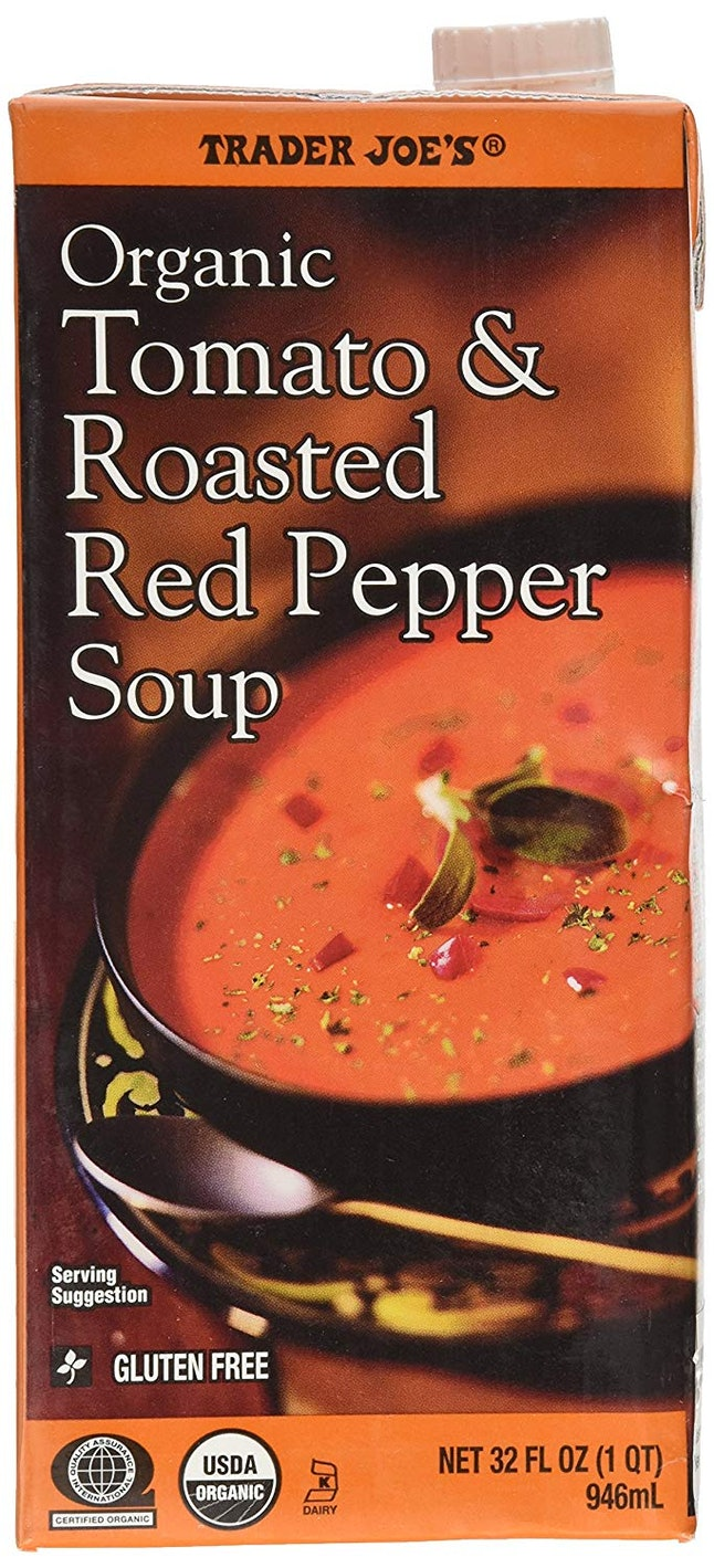 Trader Joe's Tomato & Roasted Red Pepper Soup
