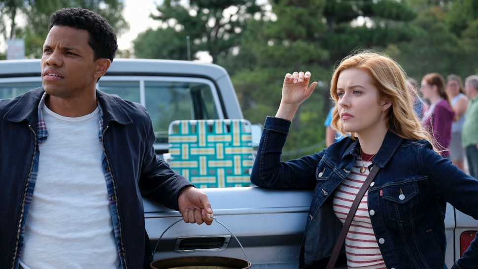Nancy Drew and Ned Nickerson in the CW's adaptation of Nancy Drew.