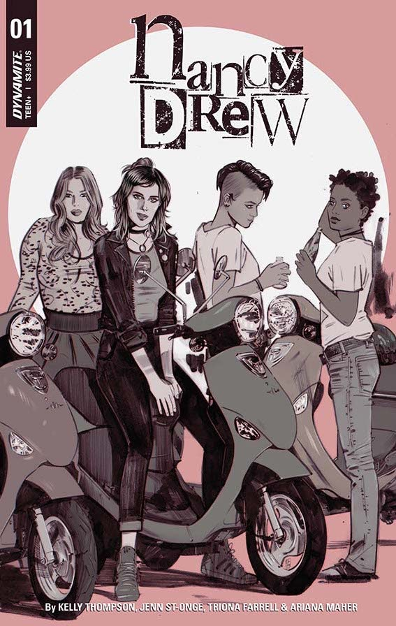 The Nancy Drew comic books