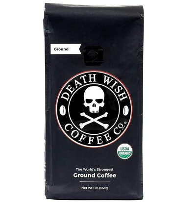 Death Wish Coffee Co. The World's Strongest Ground Coffee