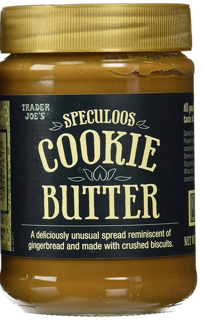 Trader Joe's Speculoos Cookie Butter Spread.