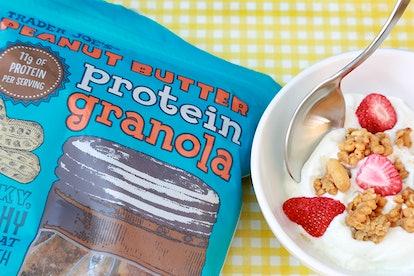 Trader Joe's Peanut Butter Protein Granola.