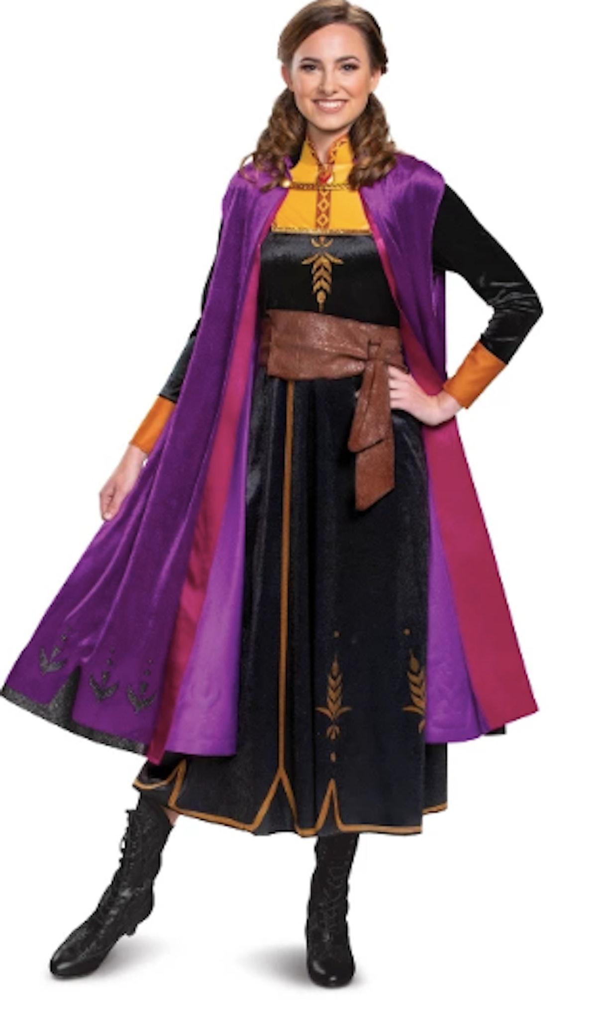 Women's Disney Frozen 2 Anna Deluxe Halloween Costume