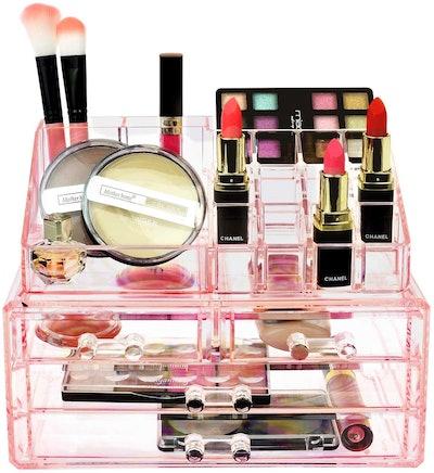 Ikee Design Jewelry and Cosmetics Organizer (2 Pieces)
