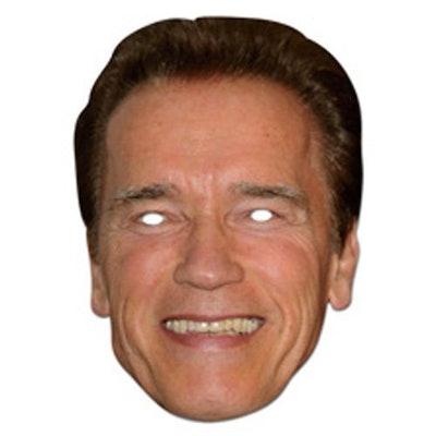 Mask-Arade Cardboard Arnold Schwarzenegger Mask