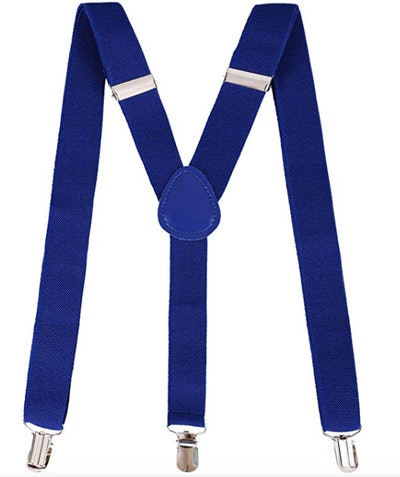 Livingston Clip-On Adjustable Elastic Suspenders