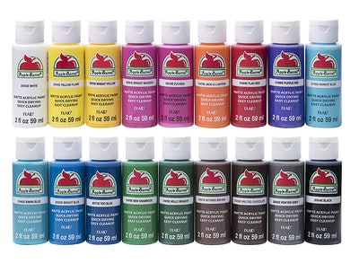 Apple Barrel Matte Acrylic Paint Set