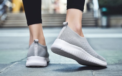 "These knitted slip-ons are so great, they've won over thousands of fans on Amazon who say they're like ""walking on marshmallows."""
