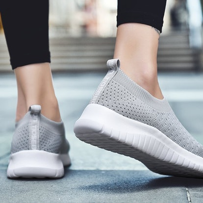 These knitted slip-ons are so great, they've won over thousands of fans on Amazon who say they're li...