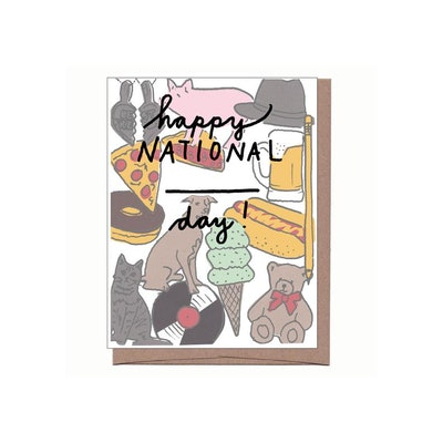 National Cat Day Card