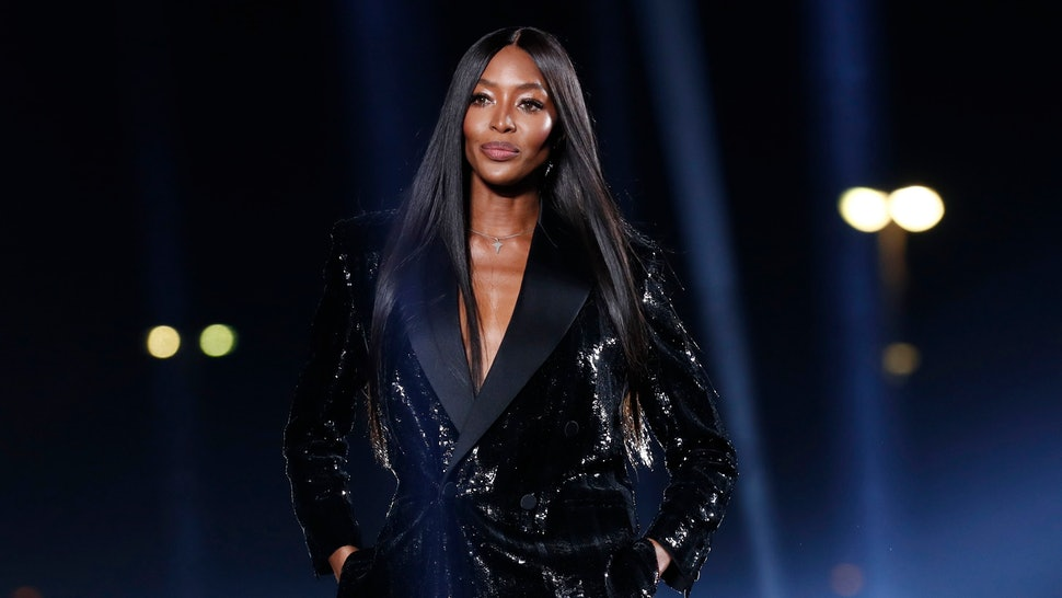 Naomi Campbell is a fashion icon