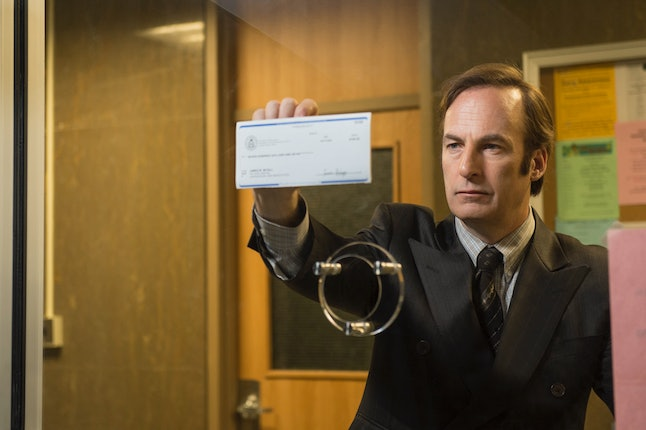 Bob Odenkirk as Saul in Better Call Saul, the prequel to Breaking Bad.