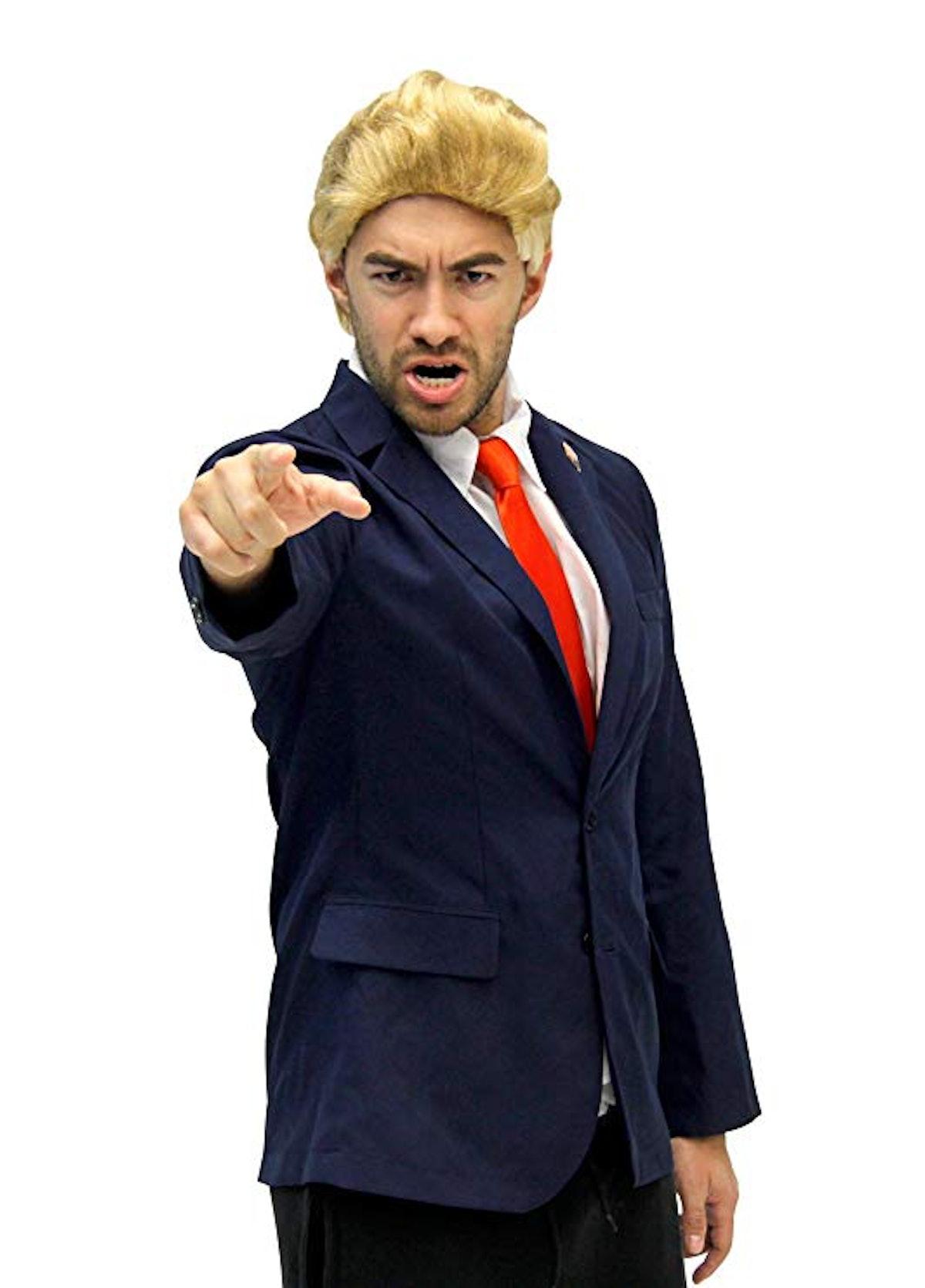 Costume Agent Men's Trump Costume Jacket