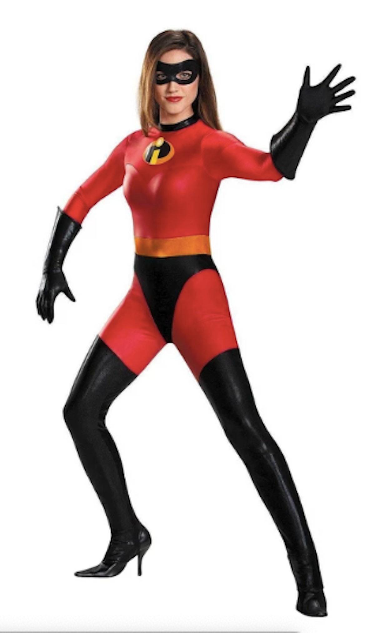 Mrs. Incredible Women's Bodysuit Costume