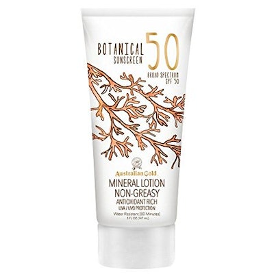 Australian Gold Botanical All Natural Max Strength SPF 50 Sunscreen Lotion