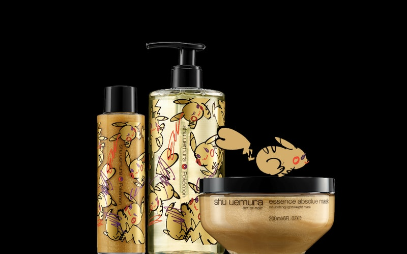The Pokemon x Shu Uemura Art of Hair collection is here in all gold to get your hair glossy while yo...