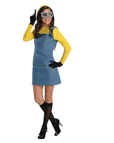 Adult Minion Dress Costume
